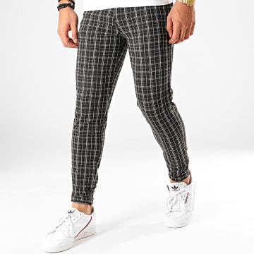 Pantalon A Carreaux 1660A Noir