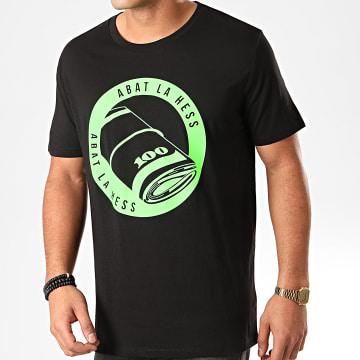 OhMonDieuSalva - Tee Shirt ABLH Noir Vert