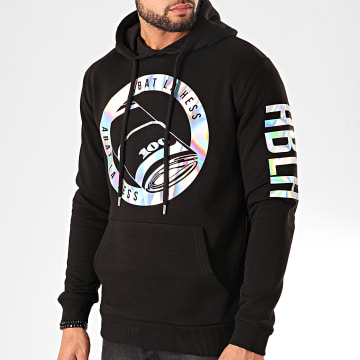 Sweat Capuche ABLH Iridescent Noir