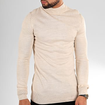 Pull AAP002 Beige Chiné