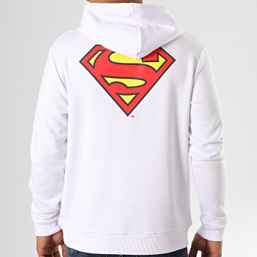 DC Comics - Sweat Capuche Original Logo Back Blanc