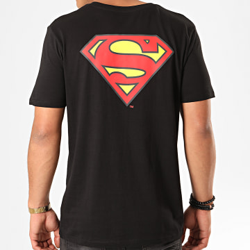 DC Comics - Tee Shirt Original Logo Back Noir