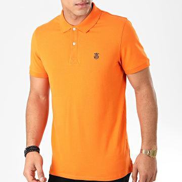 Selected - Polo Manches Courtes Haro Orange