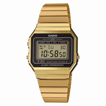 Casio - Montre Collection A700WEG-9AEF Doré