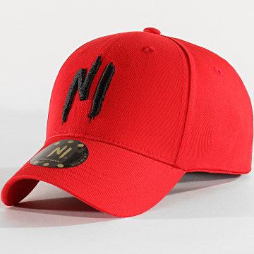 Ninho - Casquette Ni Logo Rouge Noir