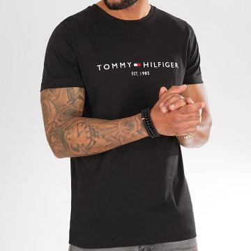 Tommy Hilfiger - Tee Shirt Core Tommy Logo 1465 Noir