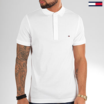 Tommy Hilfiger - Polo Manches Courtes Core Tommy 4975 Blanc