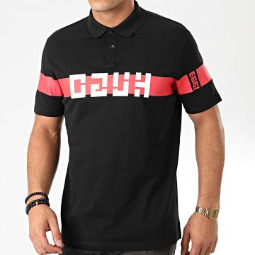 HUGO by Hugo Boss - Polo Manches Courtes Dosel 50422759 Noir