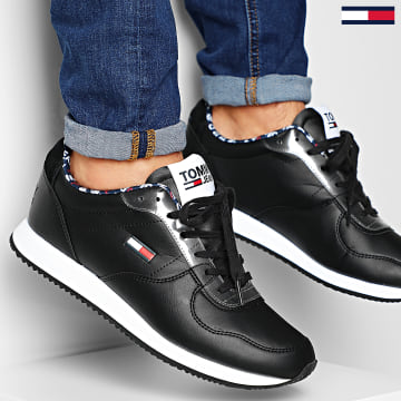 Baskets Casual Tommy Jeans Sneakers 0372 Black