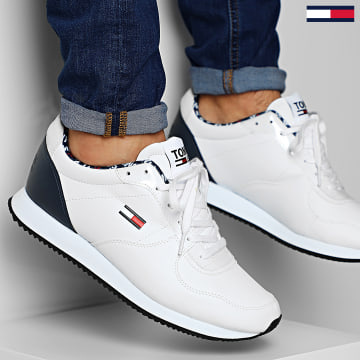 Baskets Casual Tommy Jeans Sneakers 0372 White