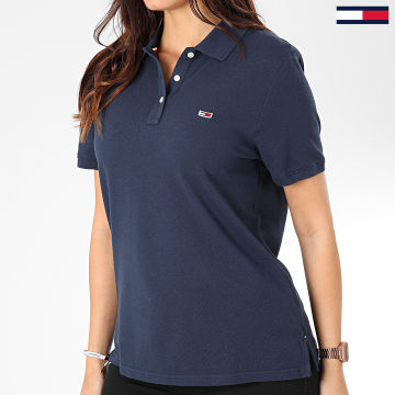 Polo Manches Courtes Femme Tommy Classics 7641 Bleu Marine