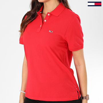 Polo Manches Courtes Femme Tommy Classics 7641 Rouge
