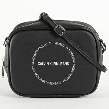Calvin Klein - Sacoche Femme Sculpted Camera 6160 Noir