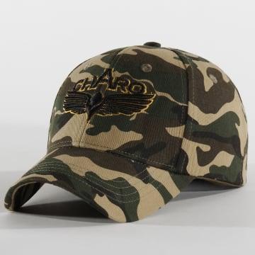 Charo - Casquette Camouflage Military Vert Kaki