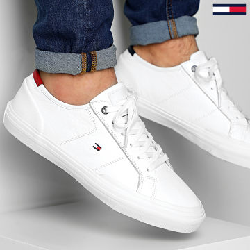 Tommy Hilfiger - Baskets Core Corporate Flag Sneaker 2593 White