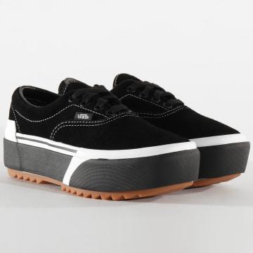 Vans - Baskets Femme Era Stacked BTOLF9 Suede Black Gum