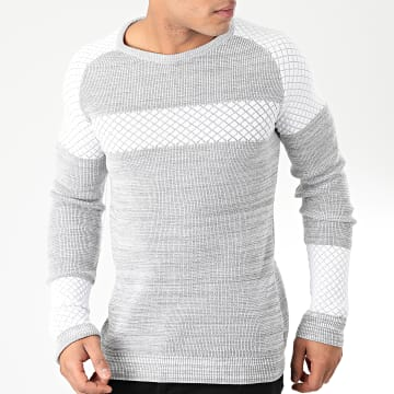 Pull H-016 Gris Chiné