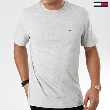 Tommy Jeans - Tee Shirt Tommy Classics 6061 Gris Chiné