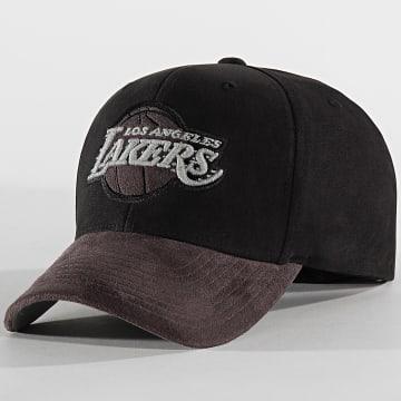 Casquette International 469 Los Angeles Lakers Noir Gris Reflective