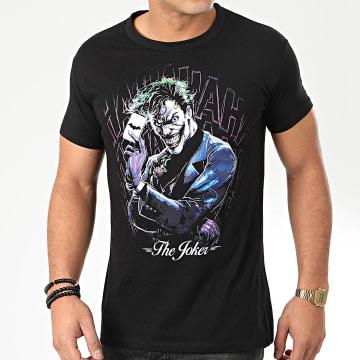 Tee Shirt Joker MEBATMBTS121 Noir