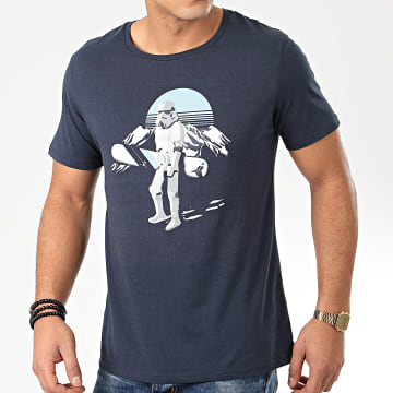 Star Wars - Tee Shirt MEORSTOTS035 Bleu Marine