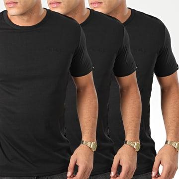 Lot De 3 Tee Shirt Highwoods Noir