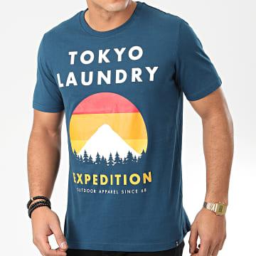 Tee Shirt Platfield Bleu