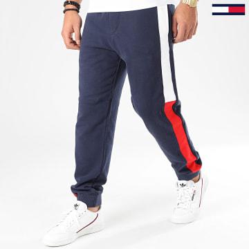 Pantalon Jogging A Bandes Jacquard Flag 7613 Bleu Marine