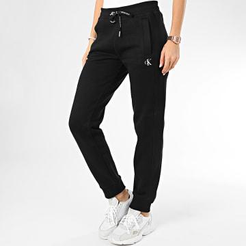 Calvin Klein - Pantalon Jogging Femme CK Embroidery 2872 Noir