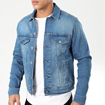 Veste Jeans Pinner PM400908HB6 Bleu Denim