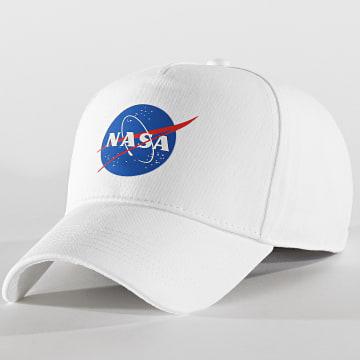 Casquette Baseball NASA Blanc