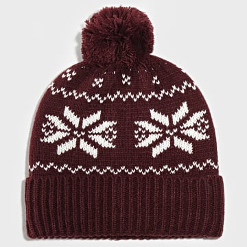 Jack And Jones - Bonnet Benjamin Bordeaux