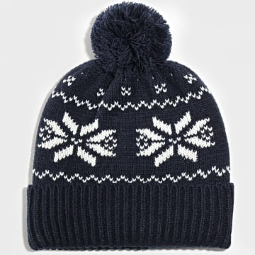 Jack And Jones - Bonnet Benjamin Bleu Marine