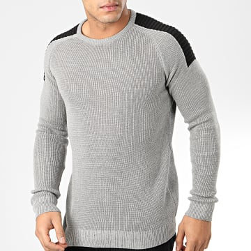Pull H-003 Gris Chiné