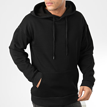 John H - Sweat Capuche 001 Noir