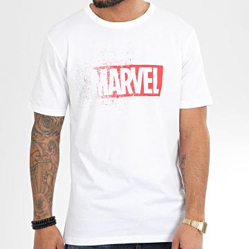Marvel - Tee Shirt ABYTEX584 Blanc Rouge