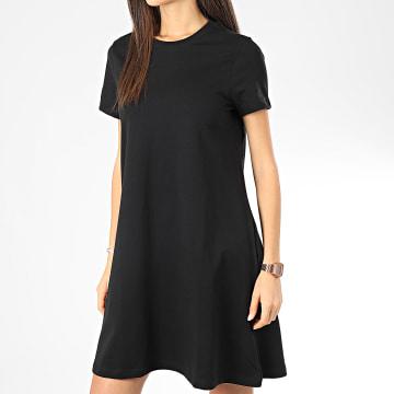 Noisy May - Robe Tee Shirt Femme Luni Noir