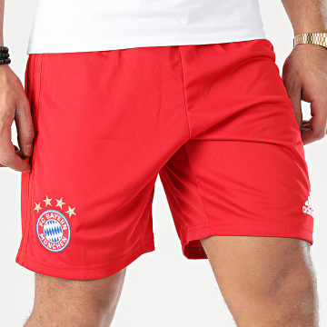 Adidas Performance - Short Jogging A Bandes FC Bayern Home DW7399 Rouge