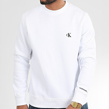Calvin Klein - Sweat Crewneck CK Essential 4536 Blanc