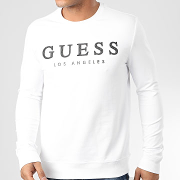 Guess - Sweat Crewneck M01Q54-K6ZS0 Blanc