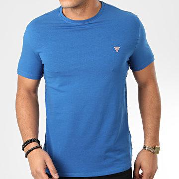 Guess - Tee Shirt Slim M01I24-J1300 Bleu