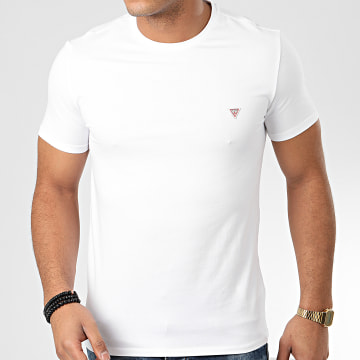 Guess - Tee Shirt Slim M01I24-J1300 Blanc