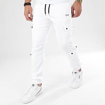 Jogger Pant T19939 Blanc