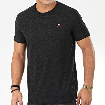 Le Coq Sportif - Tee Shirt Essential N9 1910915 Noir Chiné