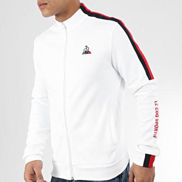 Veste Zippée Tricolore Saison N2 1921684 Blanc