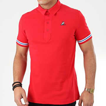Polo Manches Courtes Essential N4 1911369 Rouge