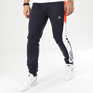 Pantalon Jogging A Bandes Essential Saison N1 2010433 Bleu Marine