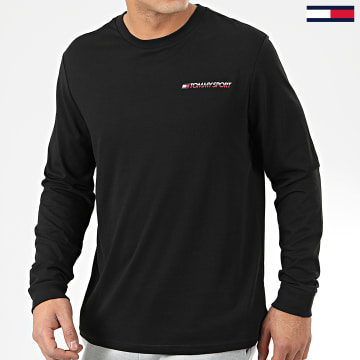 Tommy Sport - Tee Shirt Manches Longues 0313 Noir