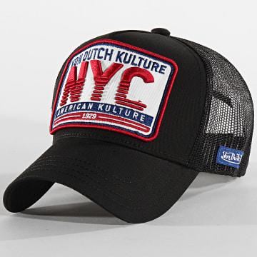 Von Dutch - Casquette Trucker NYC Noir