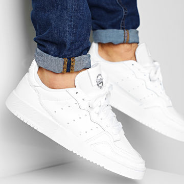 Adidas Originals - Baskets Supercourt EE6037 Cloud White Core Black